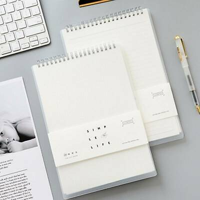 AU13.08 • Buy Lined Blank Grid Paper Journal Diary Sketchbook Upturn Coil Notepad Notebook MA