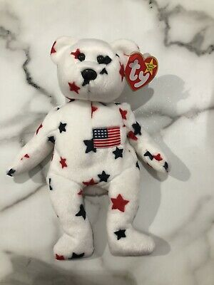 $200 • Buy Ty Beanie Babies Glory The Bear 1997 Rare Vintage Red Stamp 400 Collectible USA