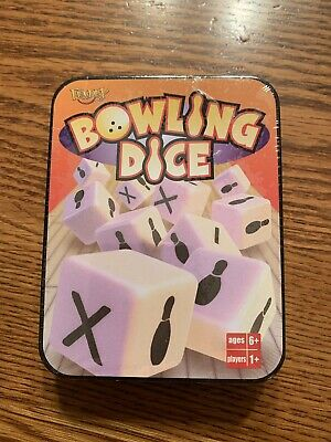 $8 • Buy BOWLING DICE GAME -- TIN 2002 FUNDEX GAMES Never Opened