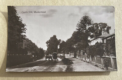 Castle Hill Maidenhead Berkshire Real Photographic Postcard • 10£