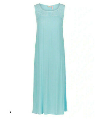 AU24.95 • Buy NEW Maxi Dress Millers Light Blue Embroidery Sleeveless Crinkle RRP $60 Plus NWT