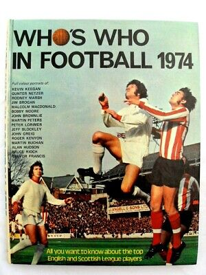 Who's Who In Football 1974 • 4.99£