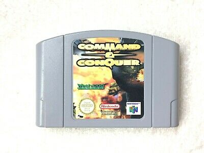 AU45 • Buy COMMAND & CONQUER - Nintendo 64 - CART ONLY - GC - IN PLASTIC SLEEVE
