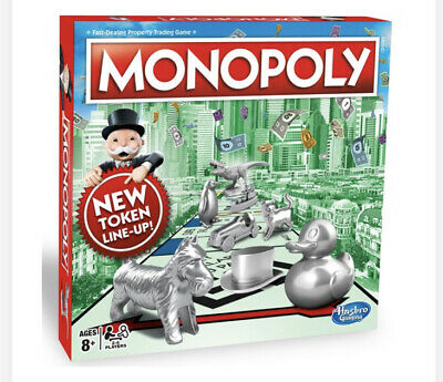 Monopoly Classic Board Game UK EDITION From Hasbro Gaming (Brand New) FREE POST • 32.50£
