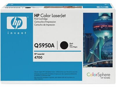HP 643A Toner Cartridge, Black Single Pack, Q5950A, High Yield,  Free P&P! • 370.99£