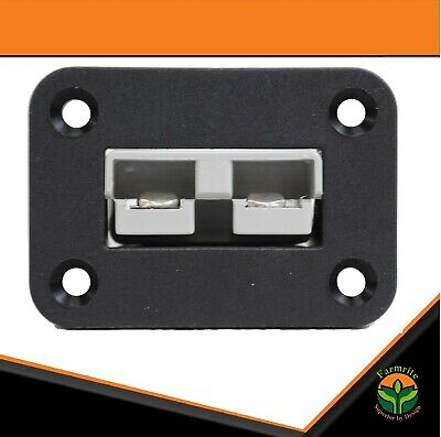 AU18.95 • Buy Anderson Plug Flush Mount Plate & Recessed Bracket 50 Amp Anderson Style Include