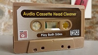NEW 2020 Tapeline BASF Audio Cassette Head Cleaner Tape Copiers Copy Duplicator  • 4.15£