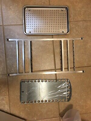 $175 • Buy NEW!  Midmark Ritter M9 Autoclave RACK, Bottom Tray, And One Large TRAY