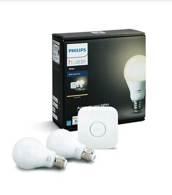 AU58.13 • Buy Philips Hue Personal Wireless Lighting Bulb Starter Kit White 840 Lumens -455287