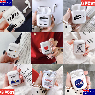 AU14.99 • Buy Airpods Case Protective Plastic Clear Slim Cover For IPhone AirPod Earphones AU