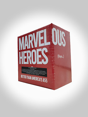 AU34.95 • Buy Marvelous Heroes Unofficial Cards Against Humanity Party Game - Cards For Bogans