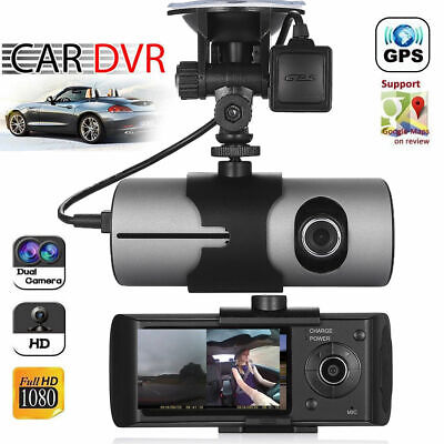 AU62.99 • Buy GPS Camera Night Vision HD Dual Lens Video Recorder Car DVR Dash Cam G-Sensor AU