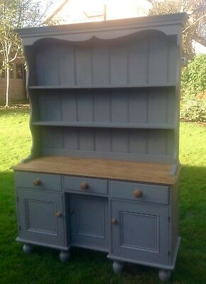 Beautiful Vintage Pine Dresser Painted Annie Sloan Shabby Chic • 245£