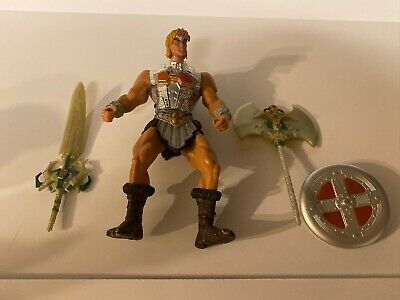 $11 • Buy Masters Of The Universe, MOTU, Battle Sound He-Man, 2001 With Accessories