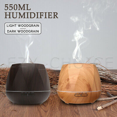 AU25.99 • Buy Aroma Aromatherapy Diffuser LED Ultrasonic Air Humidifier Purifier Essential Oil