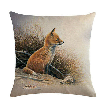 For Sofa Chair Super Soft Pillowcase Bedroom Great Quality Cute Lovely Animal • 3.43£