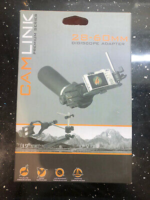 New Camlink DSA2 Digiscoping Adapter, Pictures Through Your Spotting Scope. • 9.95£