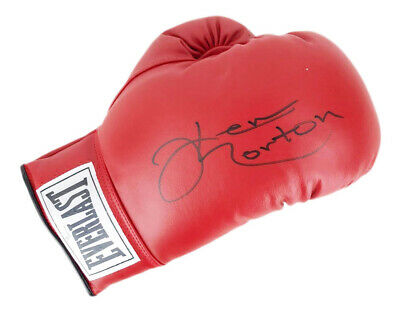 AU541.74 • Buy Ken Norton Signed Boxing Glove - Champion Of The World +COA