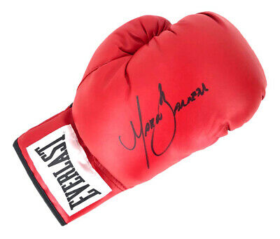 AU541.74 • Buy Signed Marco Barrera Boxing Glove - Champion Of The World +COA