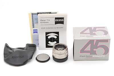 $ CDN595.01 • Buy Contax Carl Zeiss Planar T* 45mm F/2 AF Lens For G1 G2 G Mount W/ Box From Japan