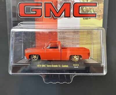 $ CDN29.98 • Buy 1/64 M2 Machines 1976 Square Body Truck GMC Sierra Grande +1🎁Gift.