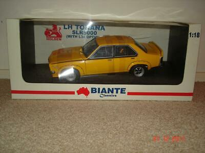 AU699.95 • Buy 1:18 Biante Holden LH L34 SL/R 5000 Torana Chrome Yellow. Very Limited Edition