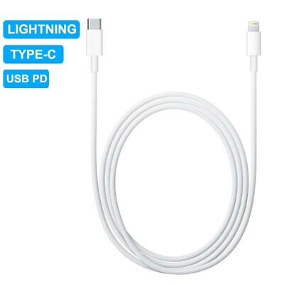 AU4.99 • Buy PD Fast Charging IPhone To Type C Charger Cable For IPhone 11 12 Pro XS Max X XR