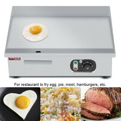 3000W Electric Griddle Flat Hotplate Home Commercial Grill Bacon Egg Meat Fryer • 66.99£