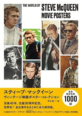£80 • Buy Steve McQueen Vintage Movie Posters Collection Poster Art Book From Japan