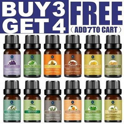 AU12.99 • Buy Aromatherapy Essential Oils Natural Pure Organic Essential Oil Fragrances AU