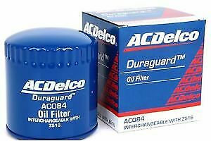 AU16 • Buy Genuine AC Delco Oil Filter AC084 Interchangeable With Z516 NEW GM#19266428