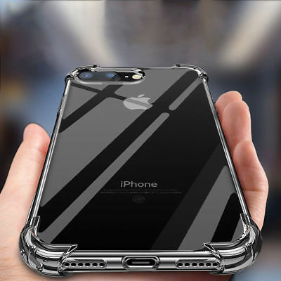 Case For Phone SE 8 7 XR X 11 Pro MAX ShockProof Apple Phone Cover TPU Silicone  • 2.95£