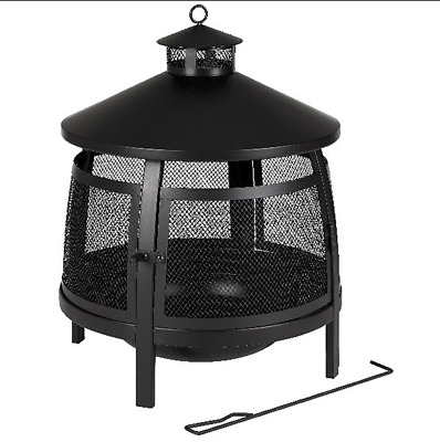 Texas Fire House Log Burner And Fire Pit • 180£