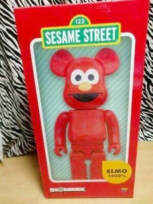 $2163.06 • Buy Bearbrick 1000 Sesame Street Elmo Build--Order Manufacturing Super Rare Goods
