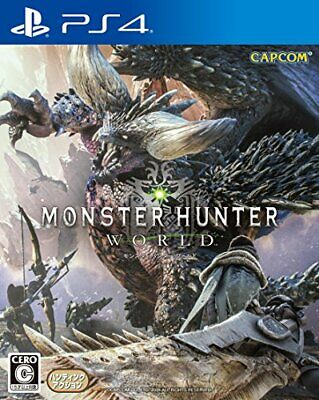 AU92.39 • Buy Capcom PlayStation 4 Monster Hunter: World Video Game PS4 From Japan 191044