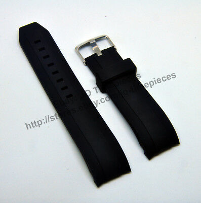 $ CDN33.38 • Buy 22mm Black Rubber Watch Band-Strap Comp. SEIKO 200M SKX007K 7S26 AUTOMATIC