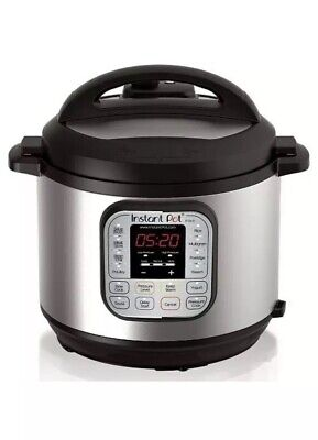 $75 • Buy Instant Pot DUO60 V3 6Qt 7-in-1 Multi-Use Programmable Pressure Cooker