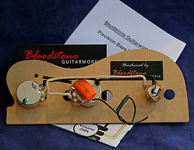 Ready Built Fender USA Precision P Bass Wiring Upgrade / Loom / Harness / Kit A • 35.95£