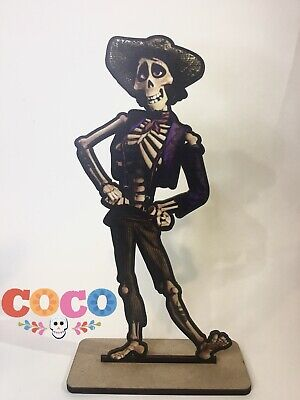 Disney Coco ~ Hector Wood Centerpiece Candy Table Party Birthday Decoration • 7.48£