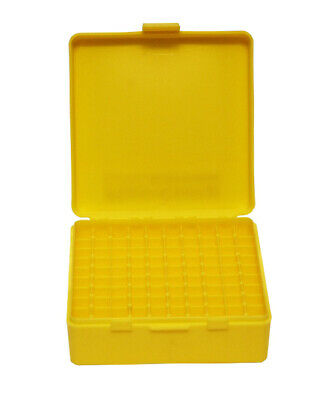 AU9.80 • Buy Max-Comp Pistol Ammo Box SML 100 Round Flip-Top 9mm 380 ACP - Yellow - PTAB001