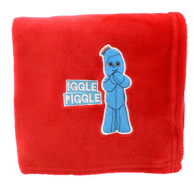 New In The Night Garden Iggle Piggle Red Blanket • 9.89£