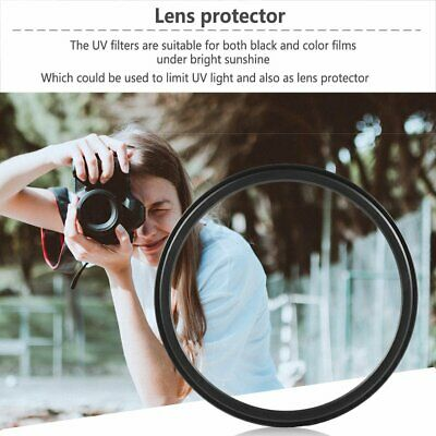 52mm UV Filter Lens For Pentax Canon Nikon Olympus All 52mm OW • 3.19£
