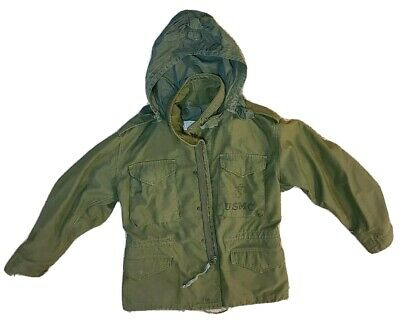 $ CDN120.82 • Buy Vintage US ARMY M-65 Cold Weather Field Coat Military Jacket Size Sm USMC