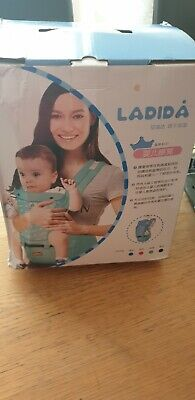 Baby Ergonomic Carrier With Hip Seat Blue  • 20£