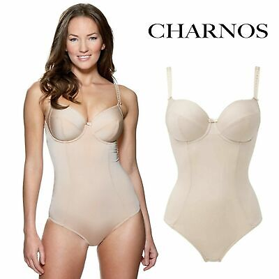 £12.99 • Buy Charnos Everyday Superfit U/w Soft Cup Suspender Body Shaper 34-38 Colour Brulee