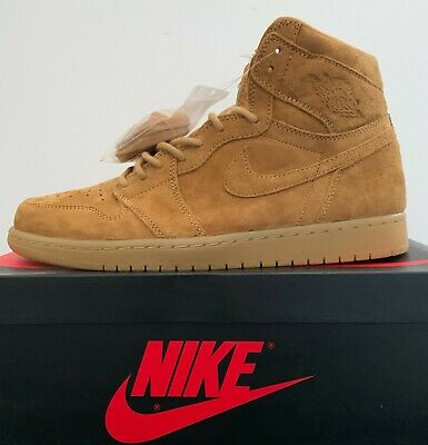 $169.99 • Buy NEW AIR JORDAN 1 HIGH WHEAT GOLDEN HARVEST GUM 555088-710 Size 10.5-14