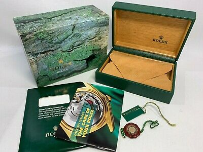 $ CDN129.66 • Buy GENUINE ROLEX Submariner 16610 Watch Box Case 68.00.04 Booklet 0613038