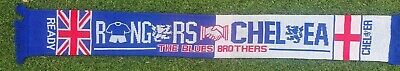 Rangers Chelsea The Blues Brothers Scarf • 10.99£