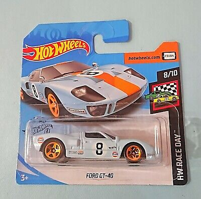 Hot Wheels 2020. Ford GT40. Gulf Blue. New Collectable Model Car. Short Card.  • 3.20£