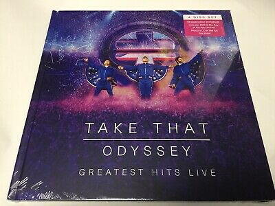 Take That - Odyssey Greatest Hits Live - DVD + Bluray + 2 CD + Photobook - NEW • 9.95£